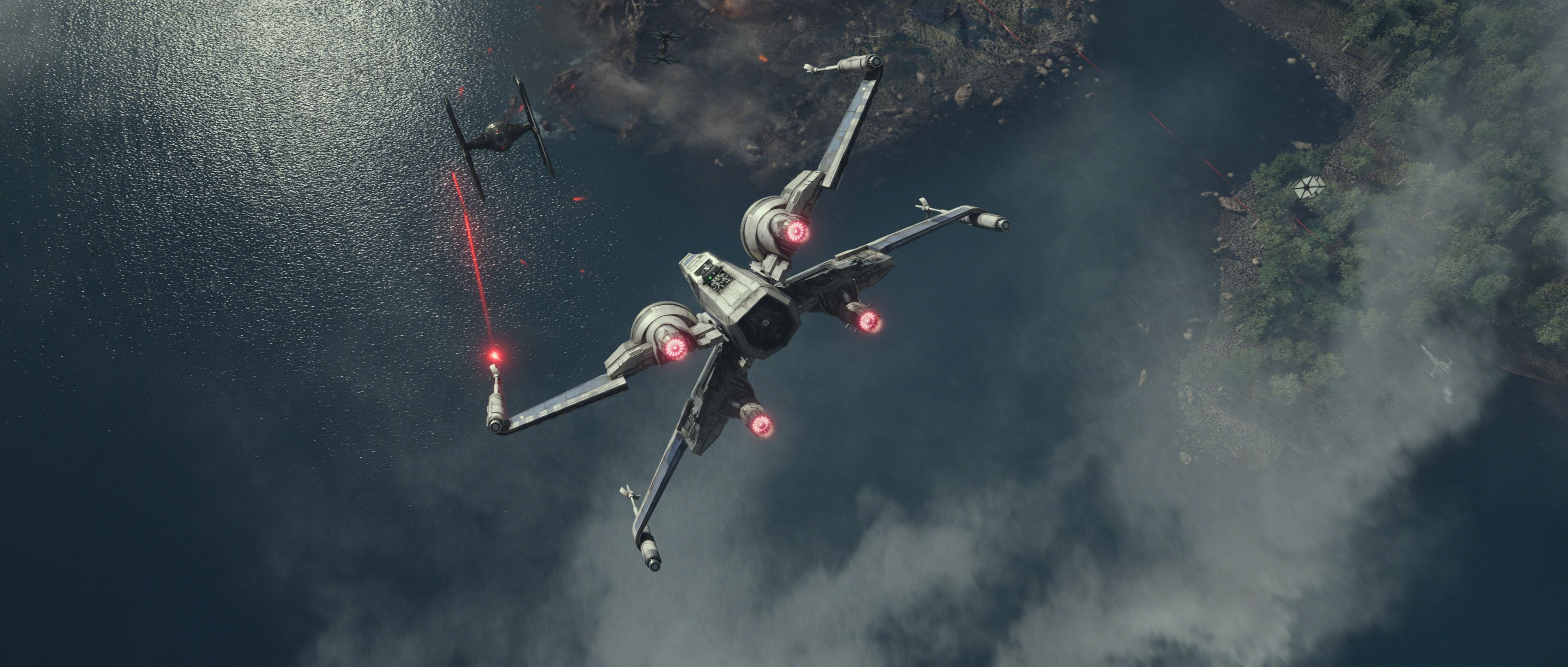 Grab a Star Wars The Force Awakens wallpaper with these new high res 3656x1556
