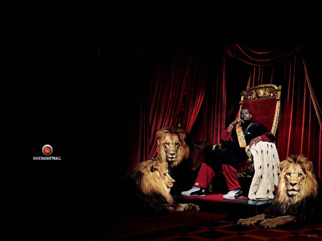 King LeBron James Wallpaper   Miami Heat Wallpaper 1024x768