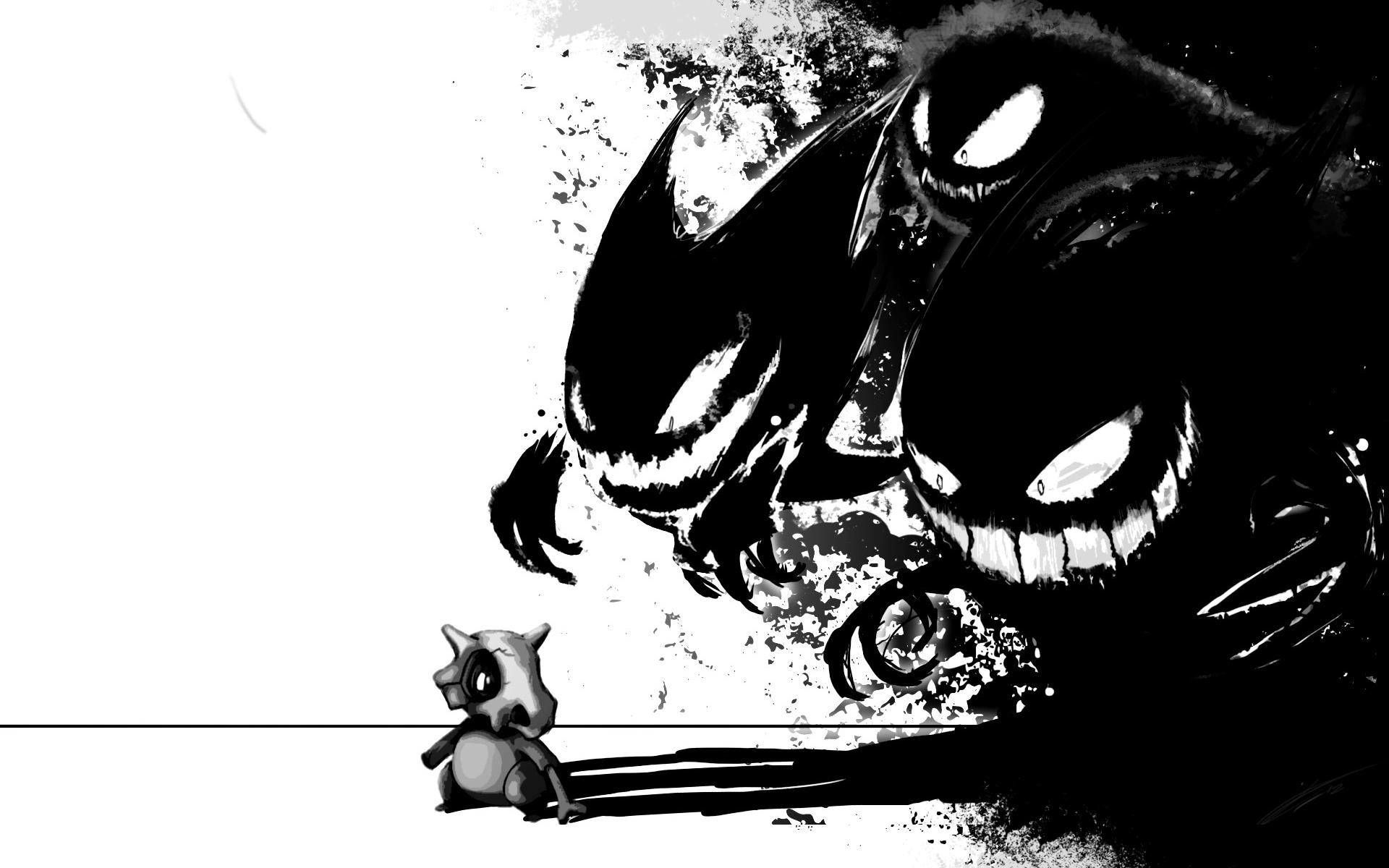 Stalking Cubone Wallpapers Gengar Stalking Cubone Myspace Backgrounds 1920x1200