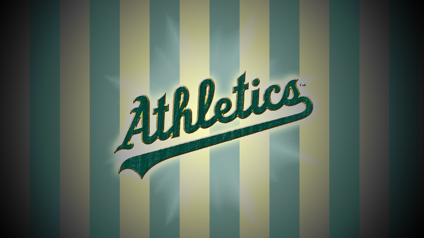 Oakland Athletics Wallpaper 13694 1366x768px 1366x768