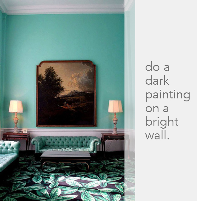 Big Paintings Bold Wallpaper Other Spot On Wall Dcor Tricks From 660x672