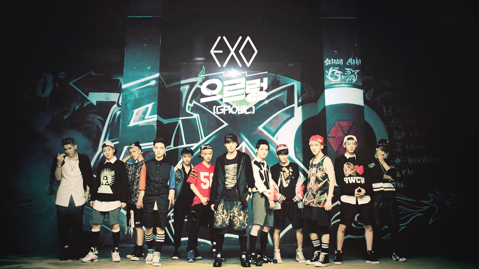 EXO Growl Wallpaper Photos Background 2013 [ EXOs Fansigning wegen 1920x1080