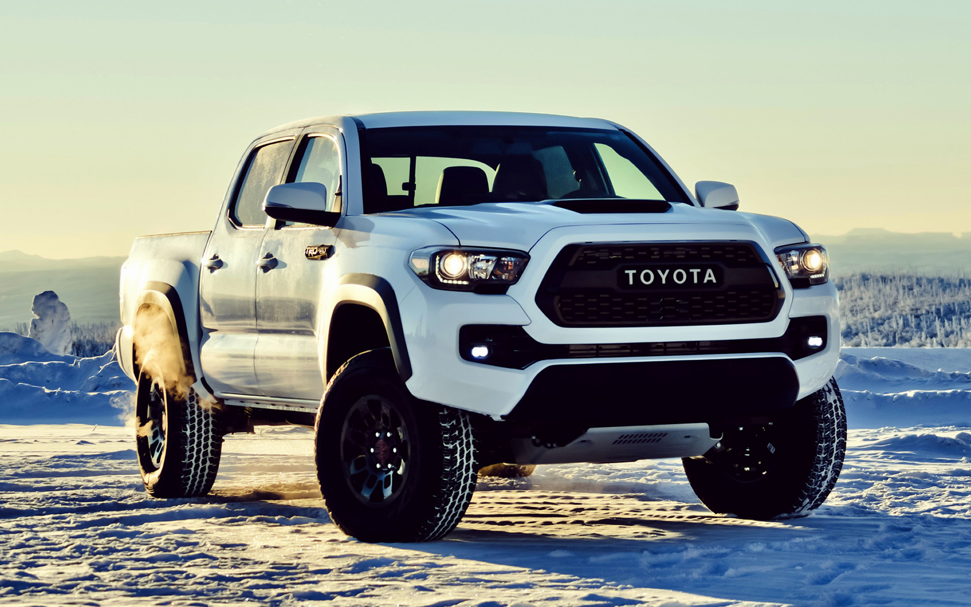 Toyota Tacoma TRD Pro Double Cab 2017 Wallpapers and HD 1920x1200