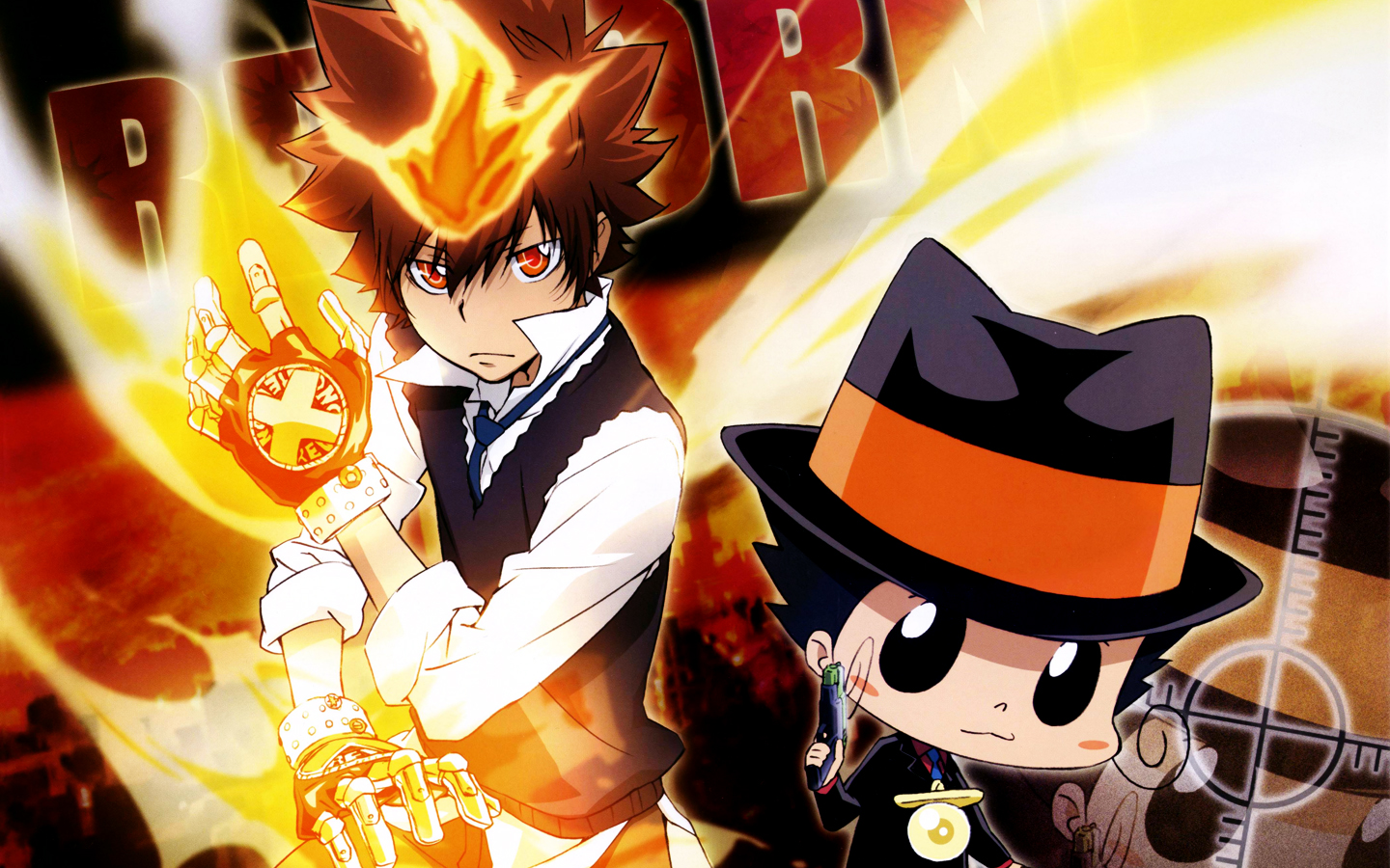 Katekyo Hitman Reborn wallpaper 105132 1440x900