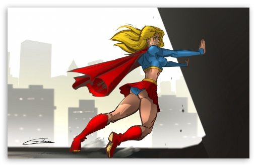Superwoman wallpaper 510x330