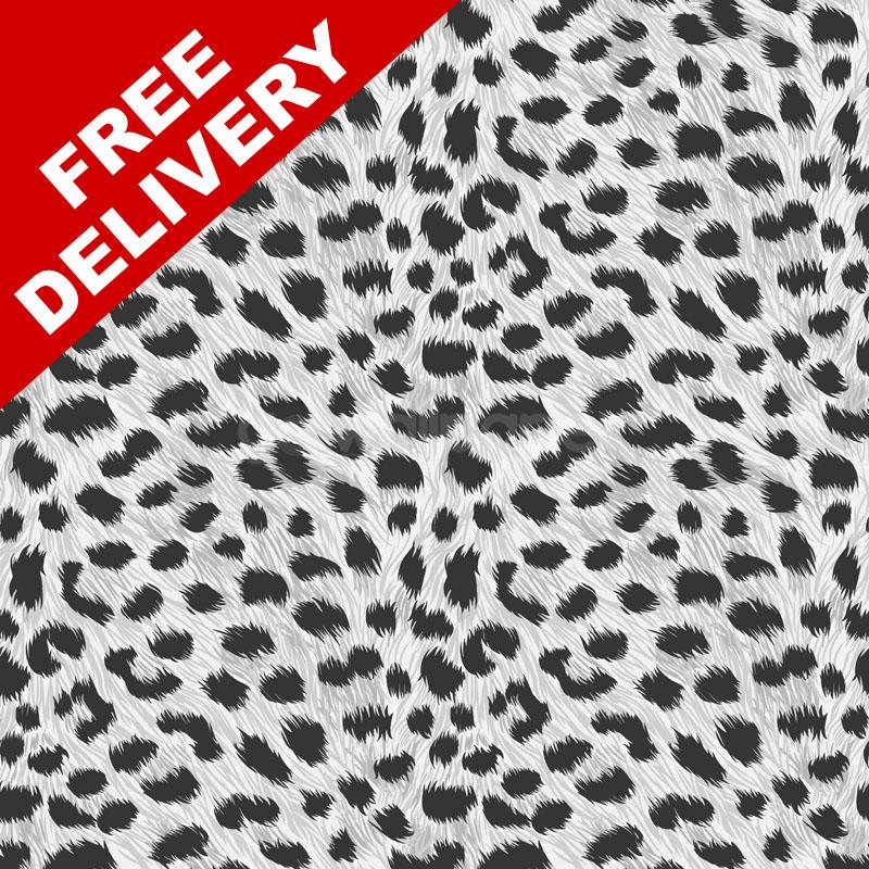 Fine Decor Furs Leopard Print Wallpaper in Black and White   FD30685 800x800