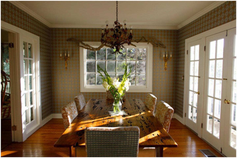 Soubiran wallpaper dining room 1440x962