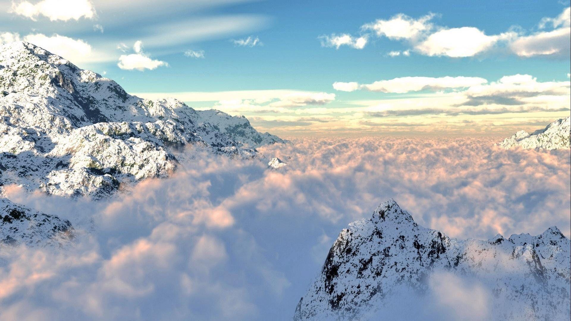 Cloud Mountain Wallpapers   Top Cloud Mountain Backgrounds 1920x1080