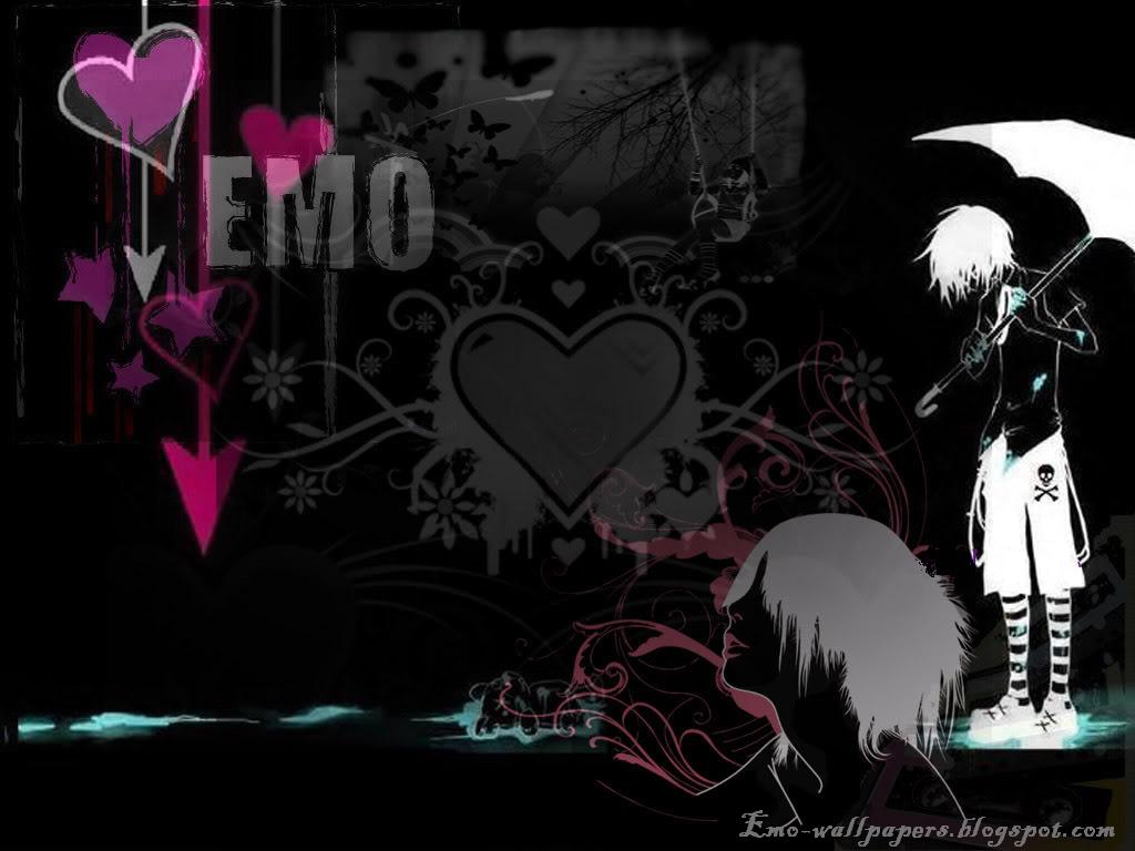Emo Anime Wallpaper - WallpaperSafari