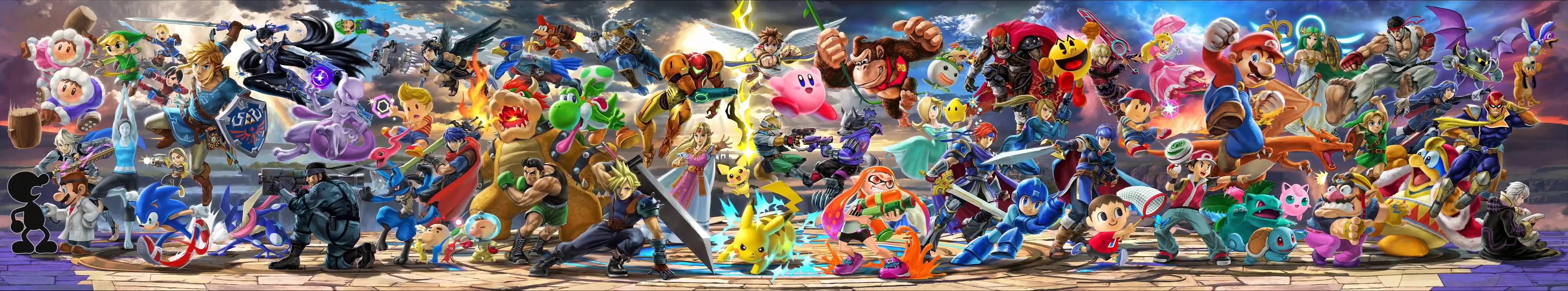 22 Super Smash Bros Ultimate Hd Wallpapers On Wallpapersafari
