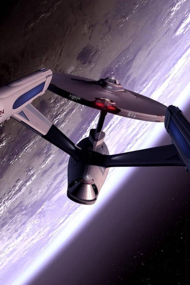 Star Trek Enterprise 640x960