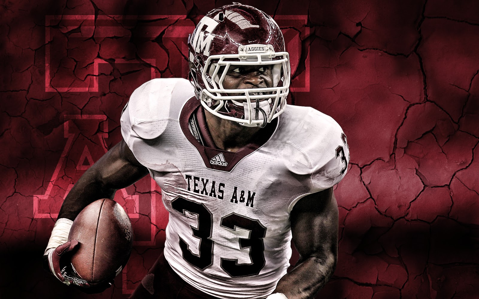 Below is another wallpaper created from the Arkansas game Texas AM 1600x1000