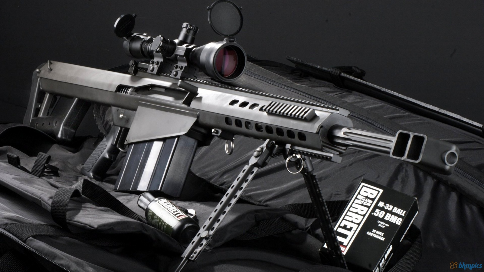 Sniper Rifle M82a1 1600x900 1788 HD Wallpaper Res 1600x900 1600x900