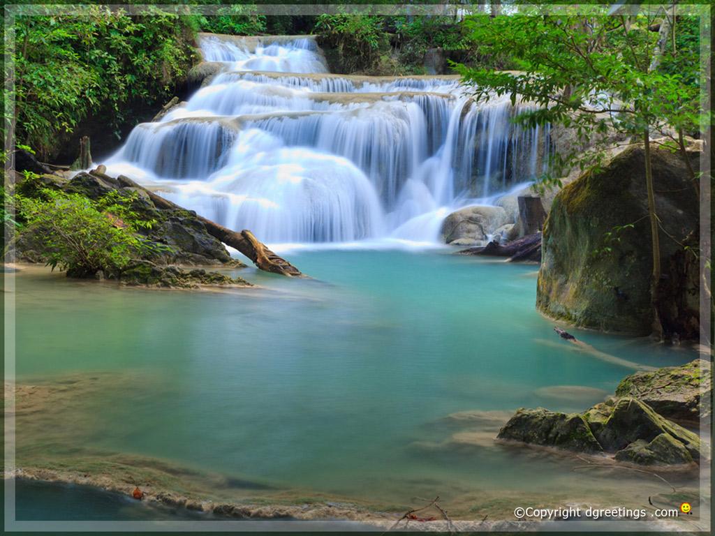 Waterfalls Animated Wallpaper Moving Waterfall Wallpaper To 1024x768