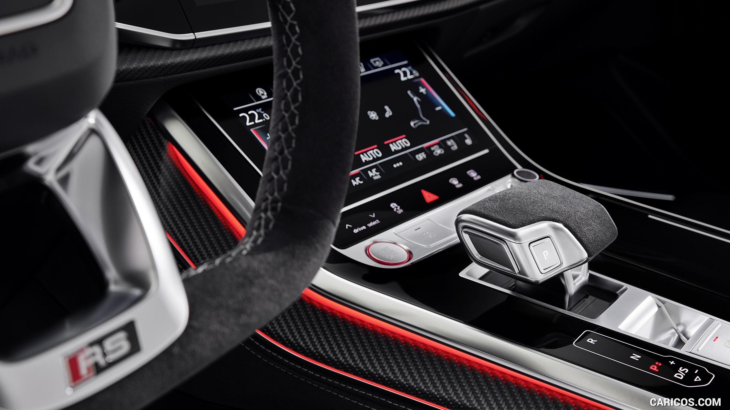 2020 Audi RS Q8   Interior Detail HD Wallpaper 15 2560x1440
