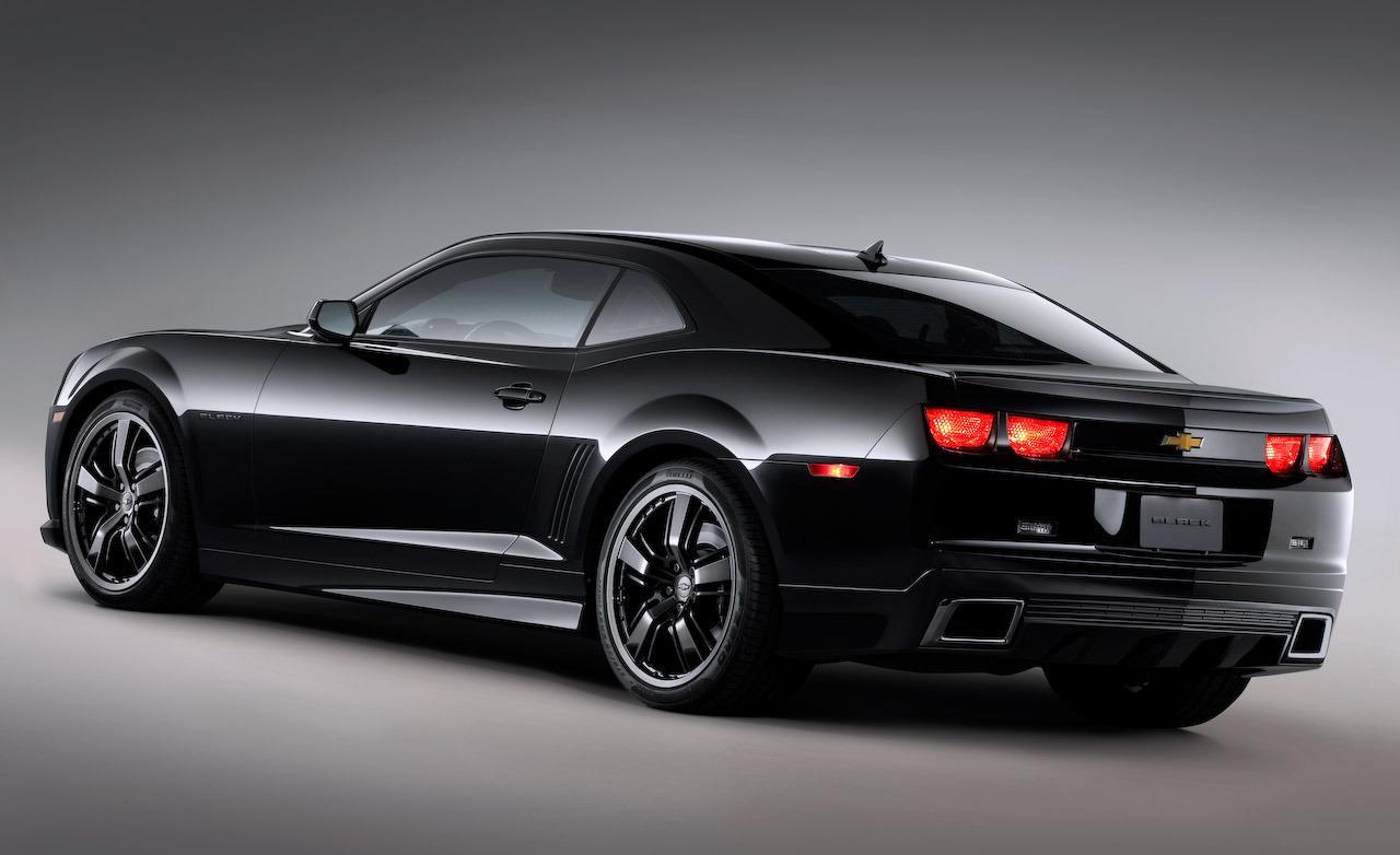 SEMA Chevrolet Camaro Black concept 1280x782