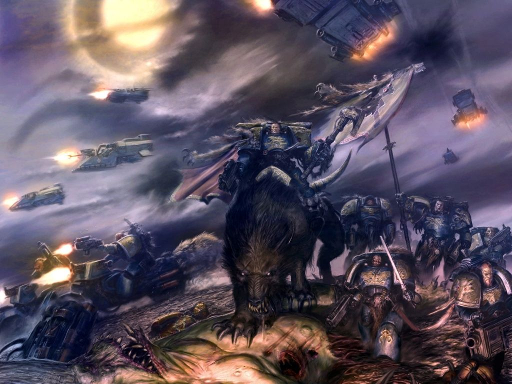 40k wallpapers Space wolves Warhammer 40k Warhammer 40k space 1024x768