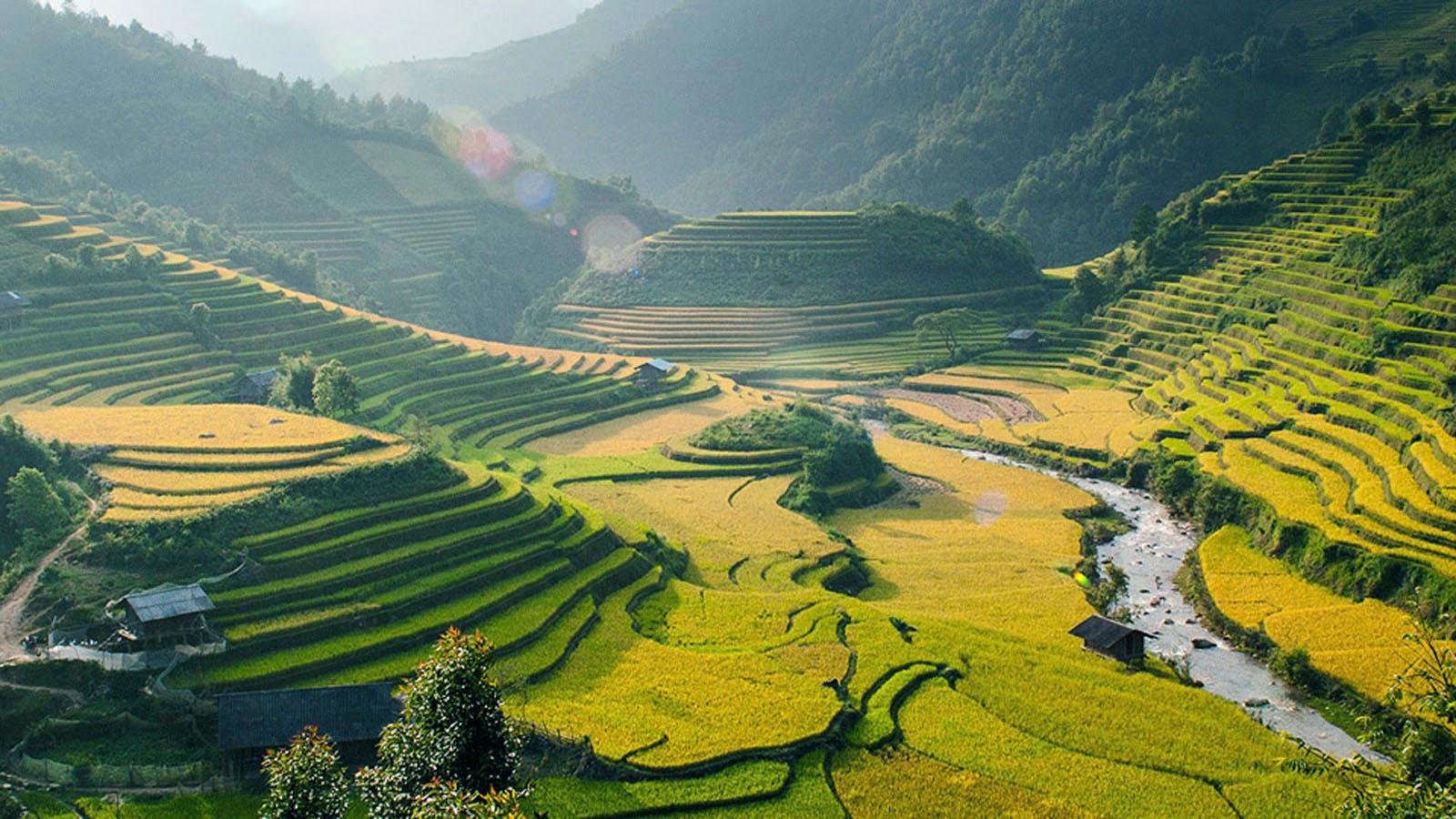 Beautiful Nature Village 1600x900