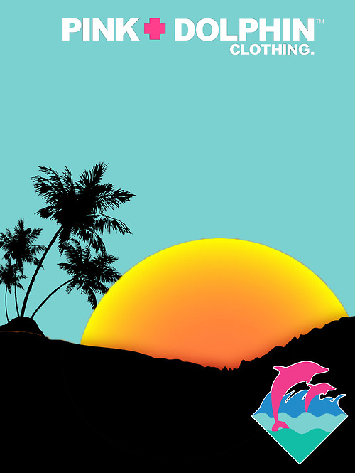 pink dolphin clothing wallpaper - photo #13
