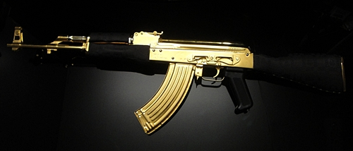 46 Gold Ak47 Wallpaper On Wallpapersafari