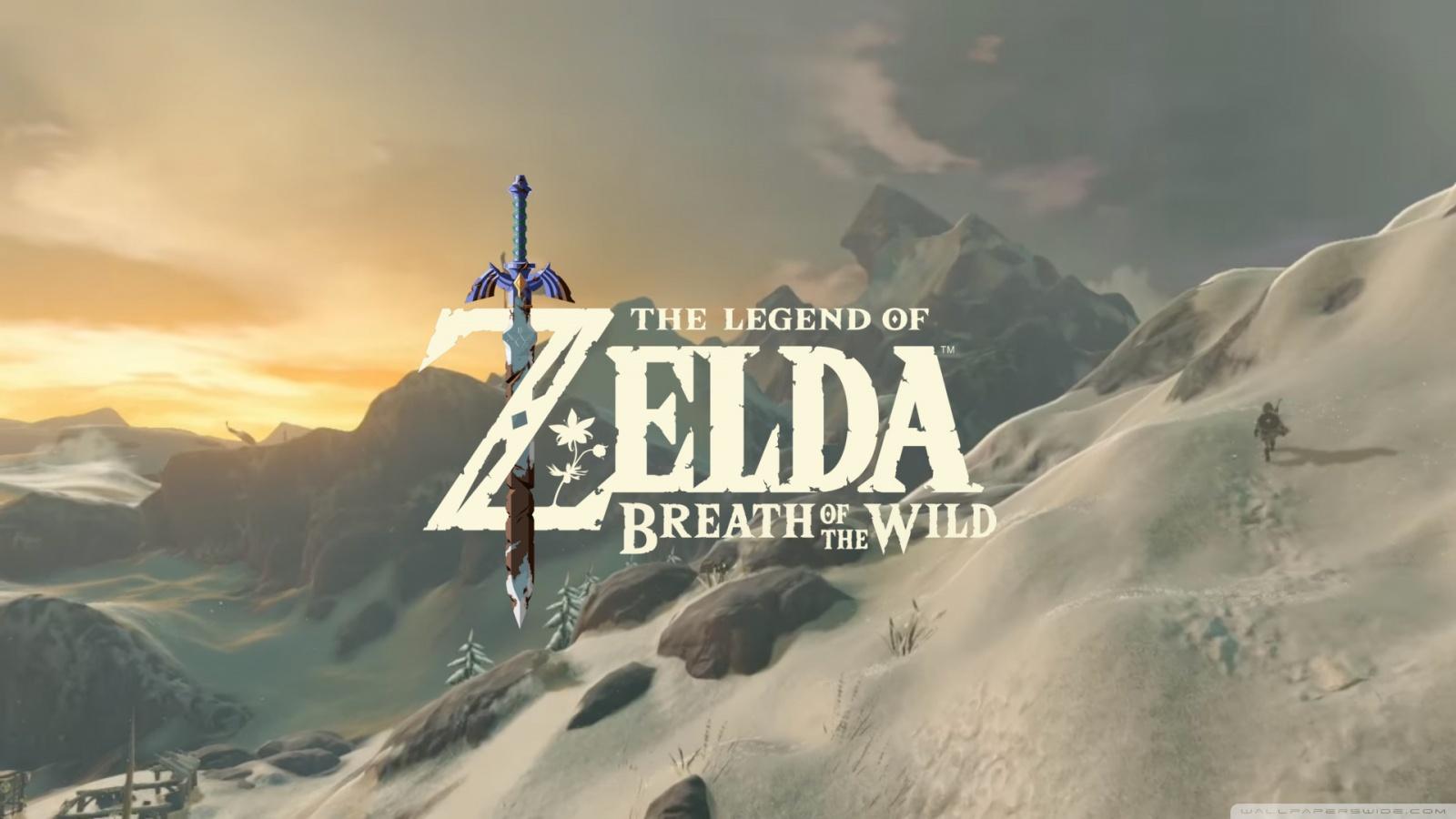 Free Download The Legend Of Zelda Breath Of The Wild 4k Hd Desktop