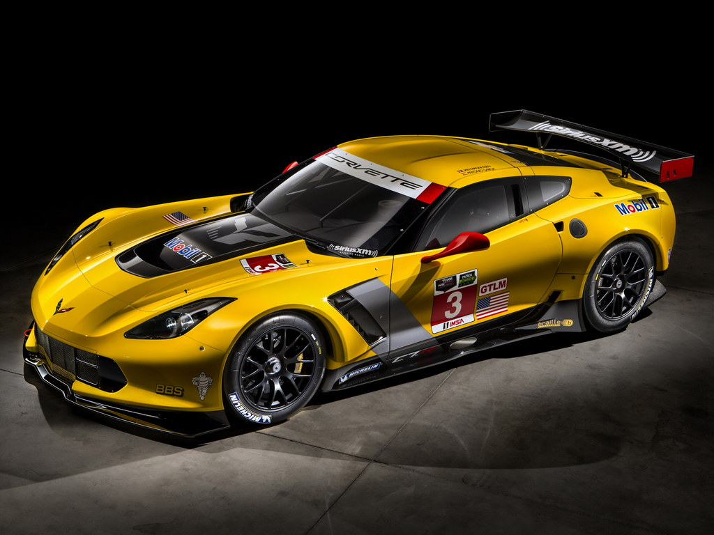 Corvette C7R 1 175x175 at Corvette C7R Race Car First Look 1024x768