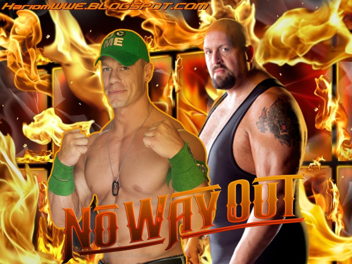 WWE John Cena vs Big Show No Way Out Matches Photos 2012 Wrestling 1152x864