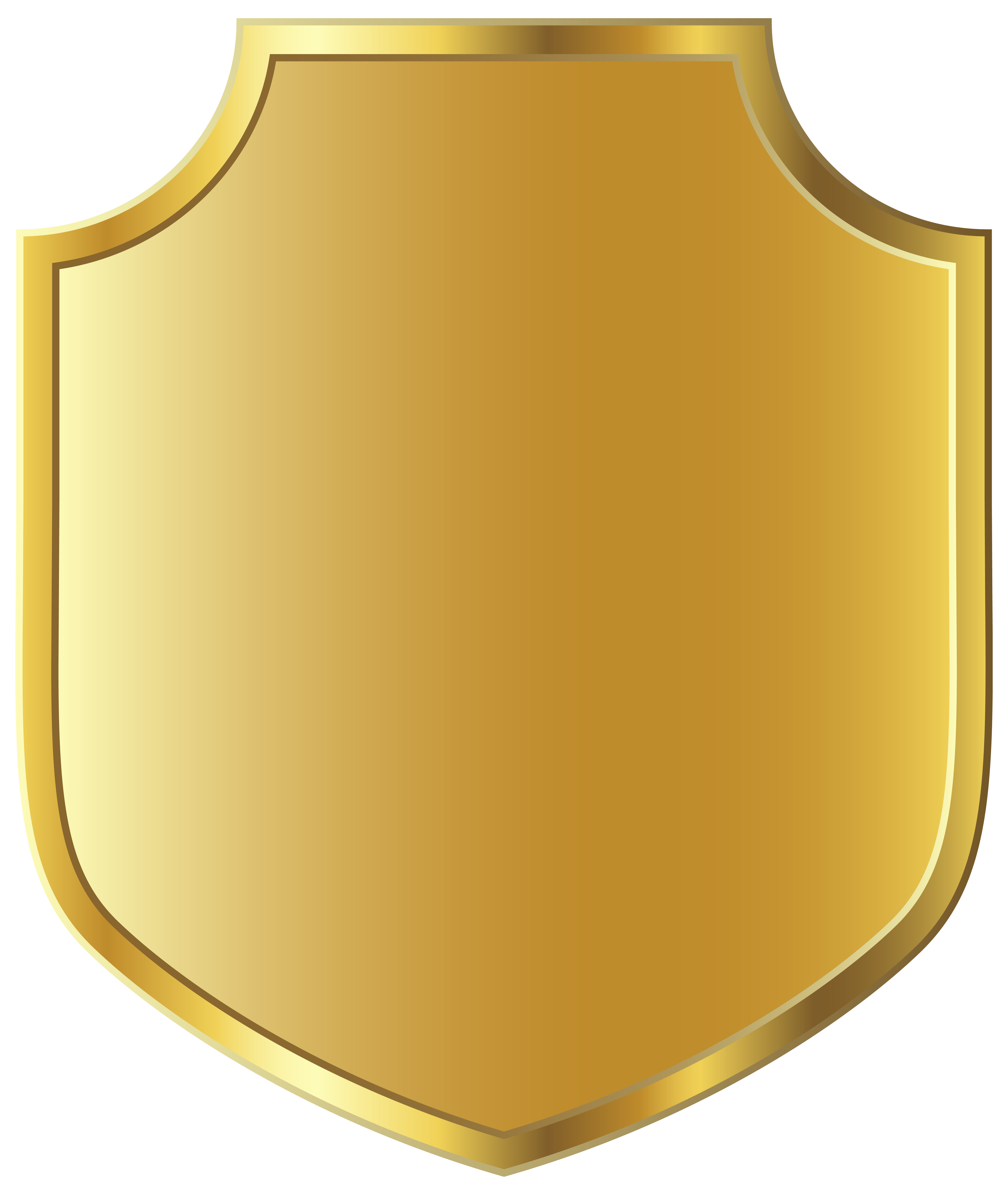 Shield Badge PNG Image Background PNG Arts 5266x6245
