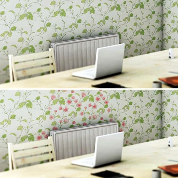The heat bloom walls Cool wall stickers that you can change at any 600x600
