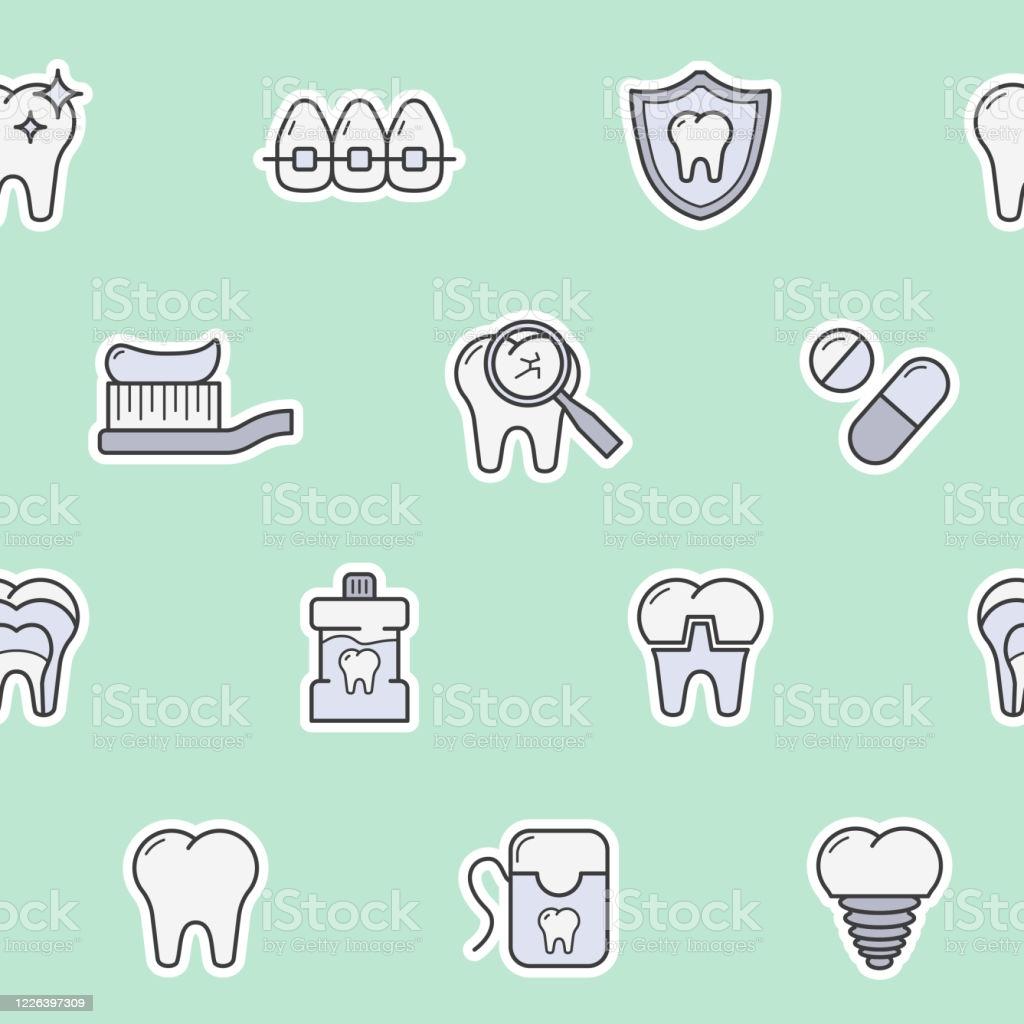 Dentist Background 0104 Stock Illustration   Download Image Now 1024x1024