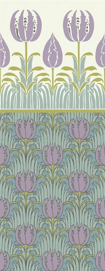 trustworth studios   tulip frieze Patterns Pinterest 214x550