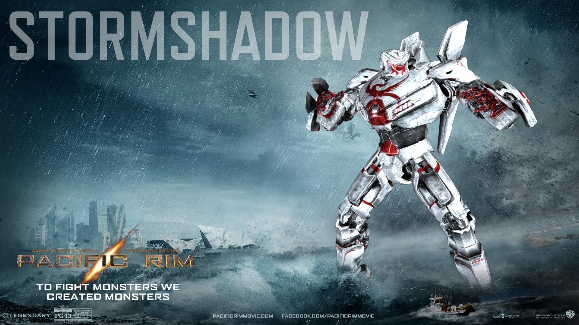 Storm shadow wallpaper