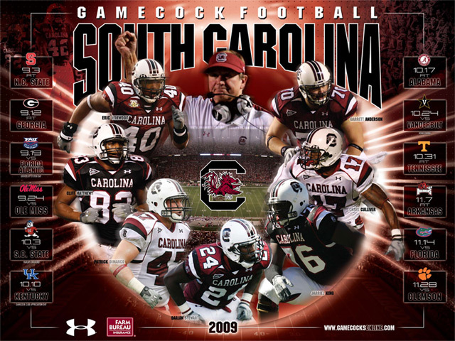 University of South Carolina Official Athletic Site 640x480