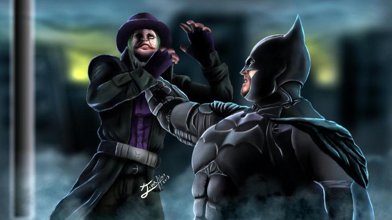 Go Back Gallery For Batman Vs Joker Wallpaper 800x450