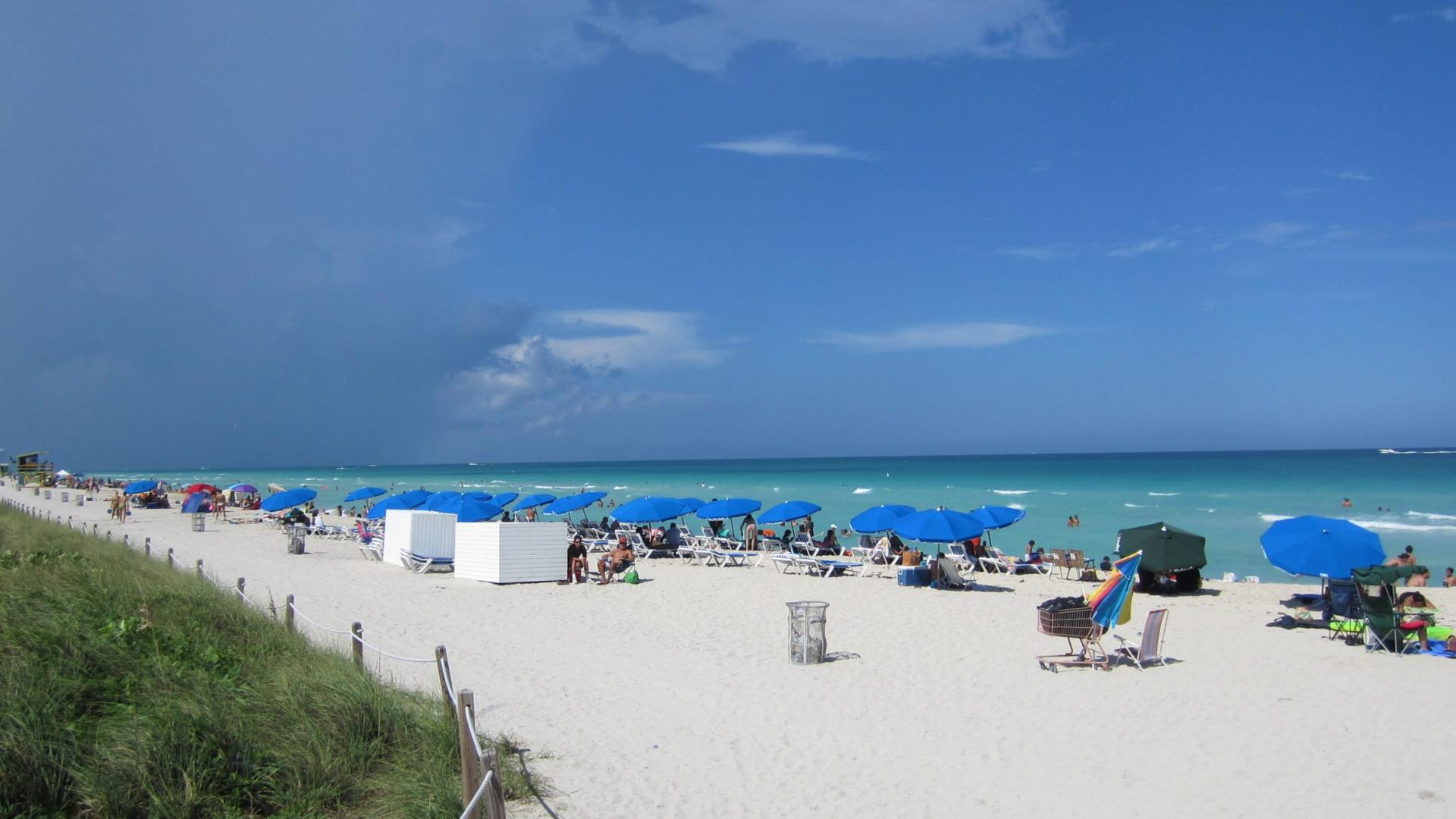 South Beach Miami Florida HD Wallpaper of Beach   hdwallpaper2013 1920x1080