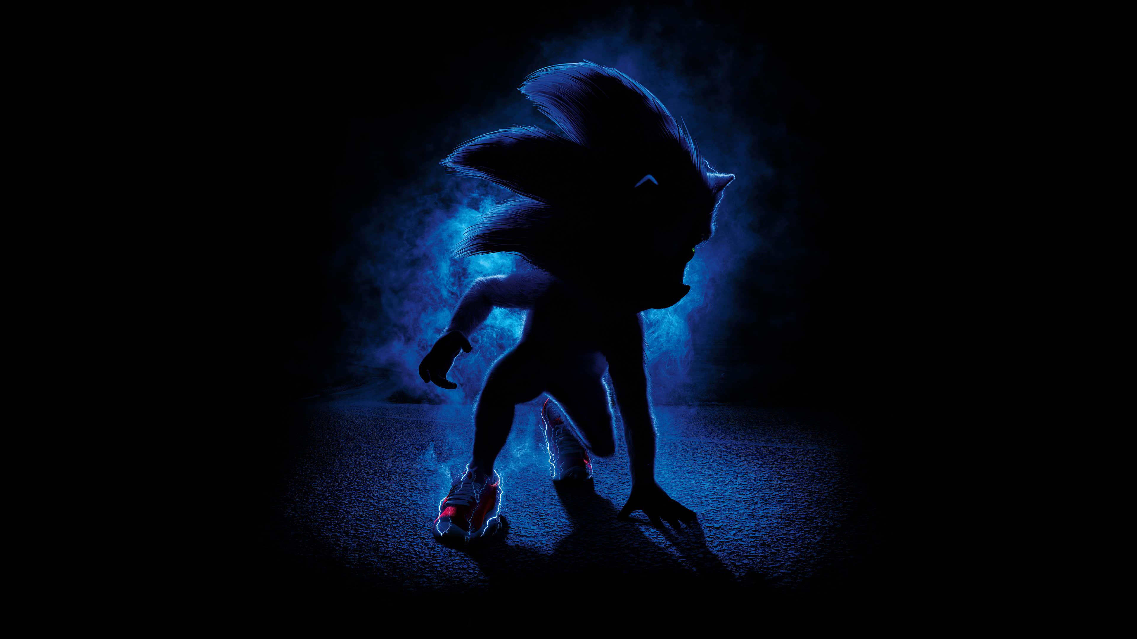 Sonic The Hedgehog Movie UHD 4K Wallpaper Pixelz 3840x2160