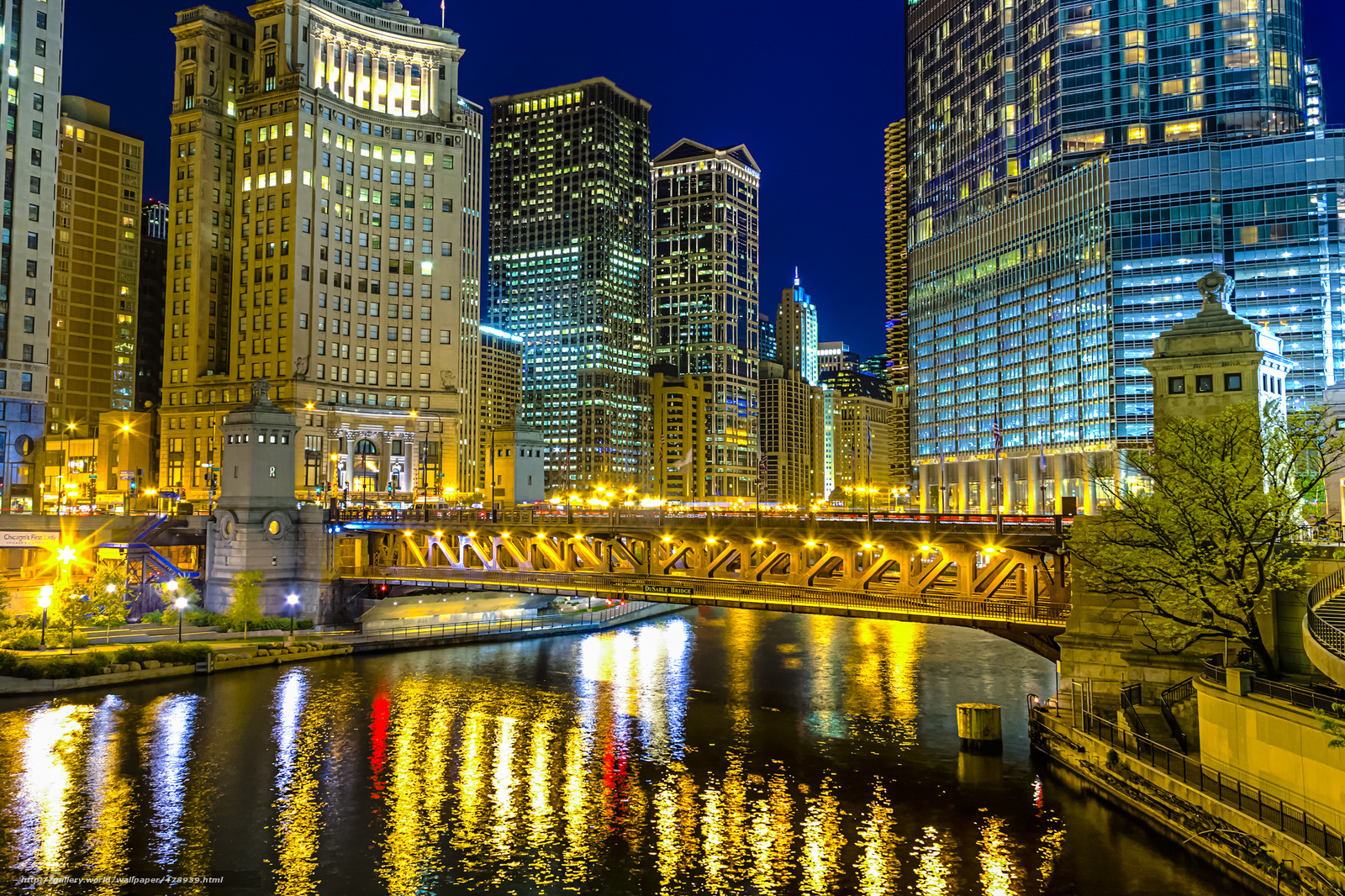 Download wallpaper Chicago Chicago illinois Illinois 1600x1066