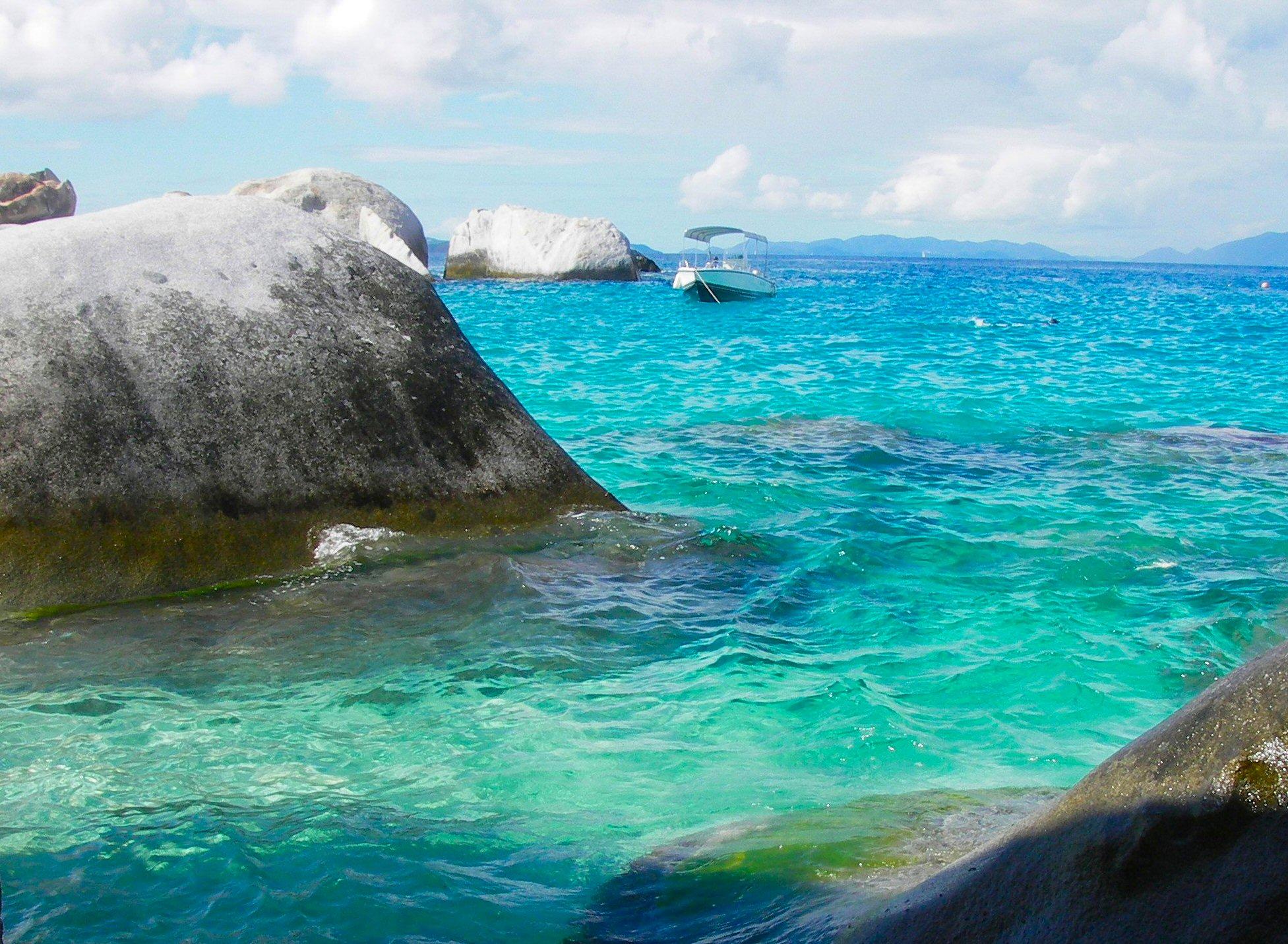 The Baths, Virgin Gorda Island, British Virgin Islands, West Indies  № 1471409 без смс