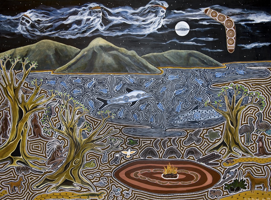 The Dreamtime Story of the Three Brothers Dreaming Eyes of Wonder 1050x774