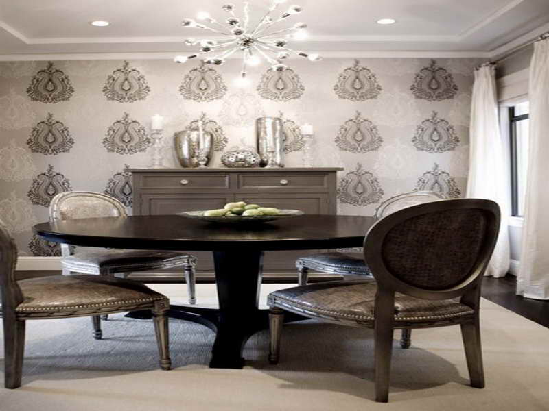 marvellous pics above is part of Dining Room Wallpaper Design Ideas 800x600