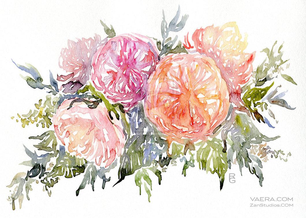 38 Watercolor Flowers Wallpaper On Wallpapersafari