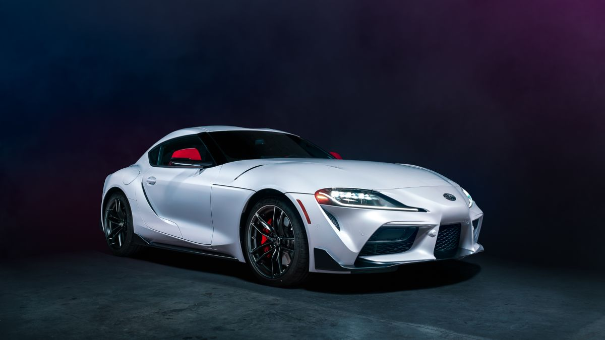 Your Brooding 2020 Toyota Supra Wallpaper Is Here 1200x675