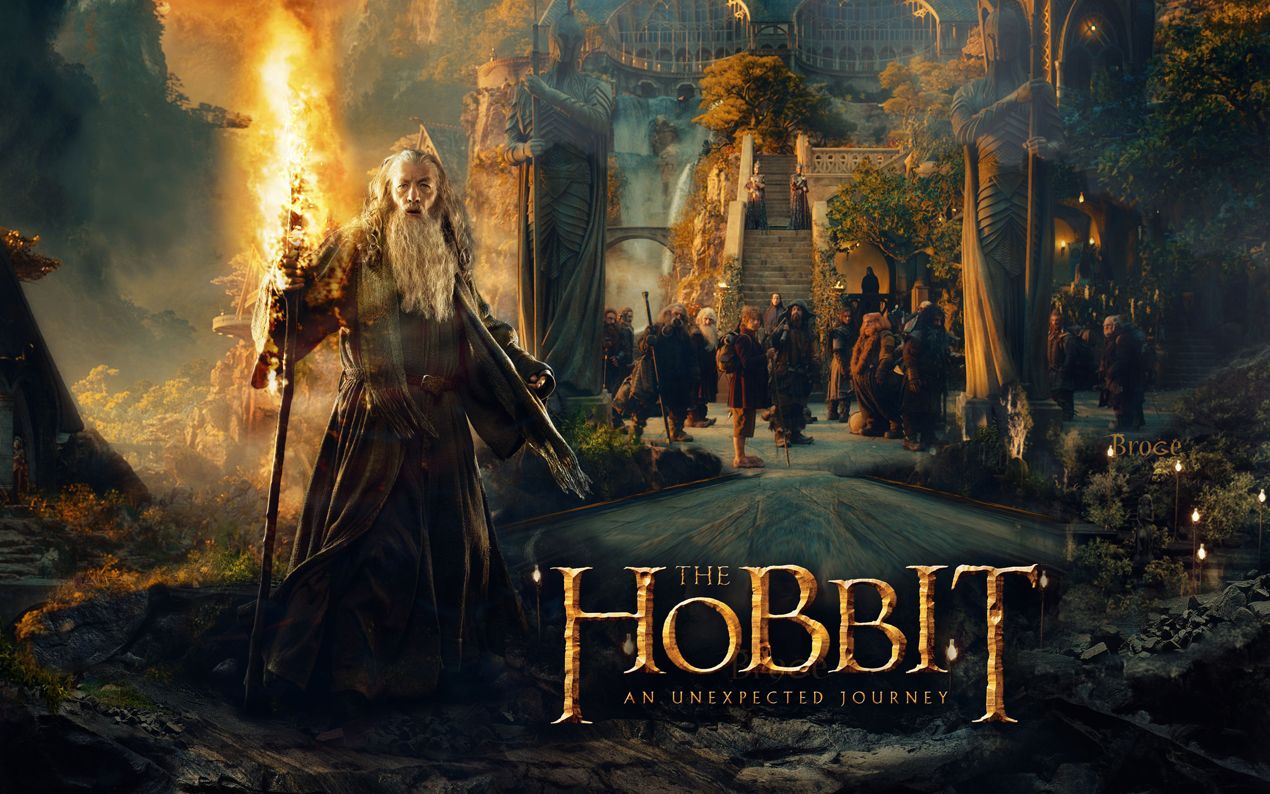the hobbit Computer Wallpapers Desktop Backgrounds 2560x1600