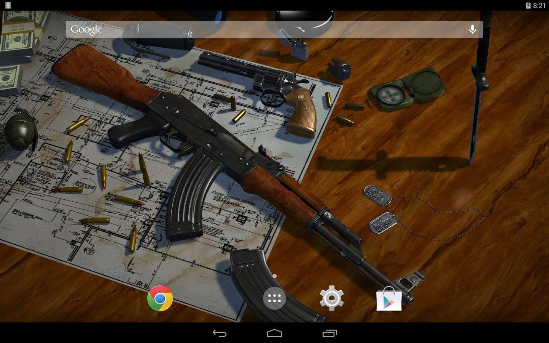 50+] 3D Guns Wallpaper on WallpaperSafari