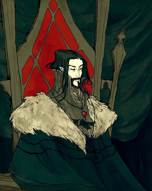 Vlad the Impaler by AbigailLarson 600x750