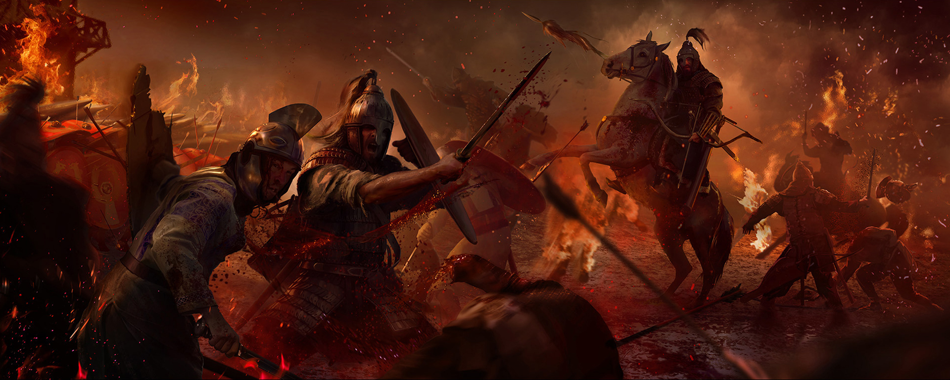 Video Game   Total War Attila Wallpaper 1920x768