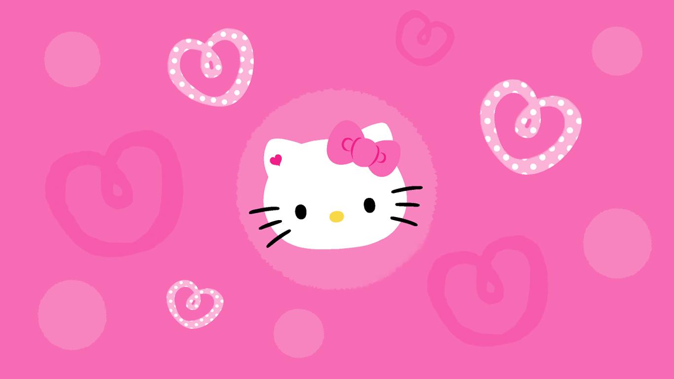 76+] Wallpaper Hello Kitty Pink on WallpaperSafari