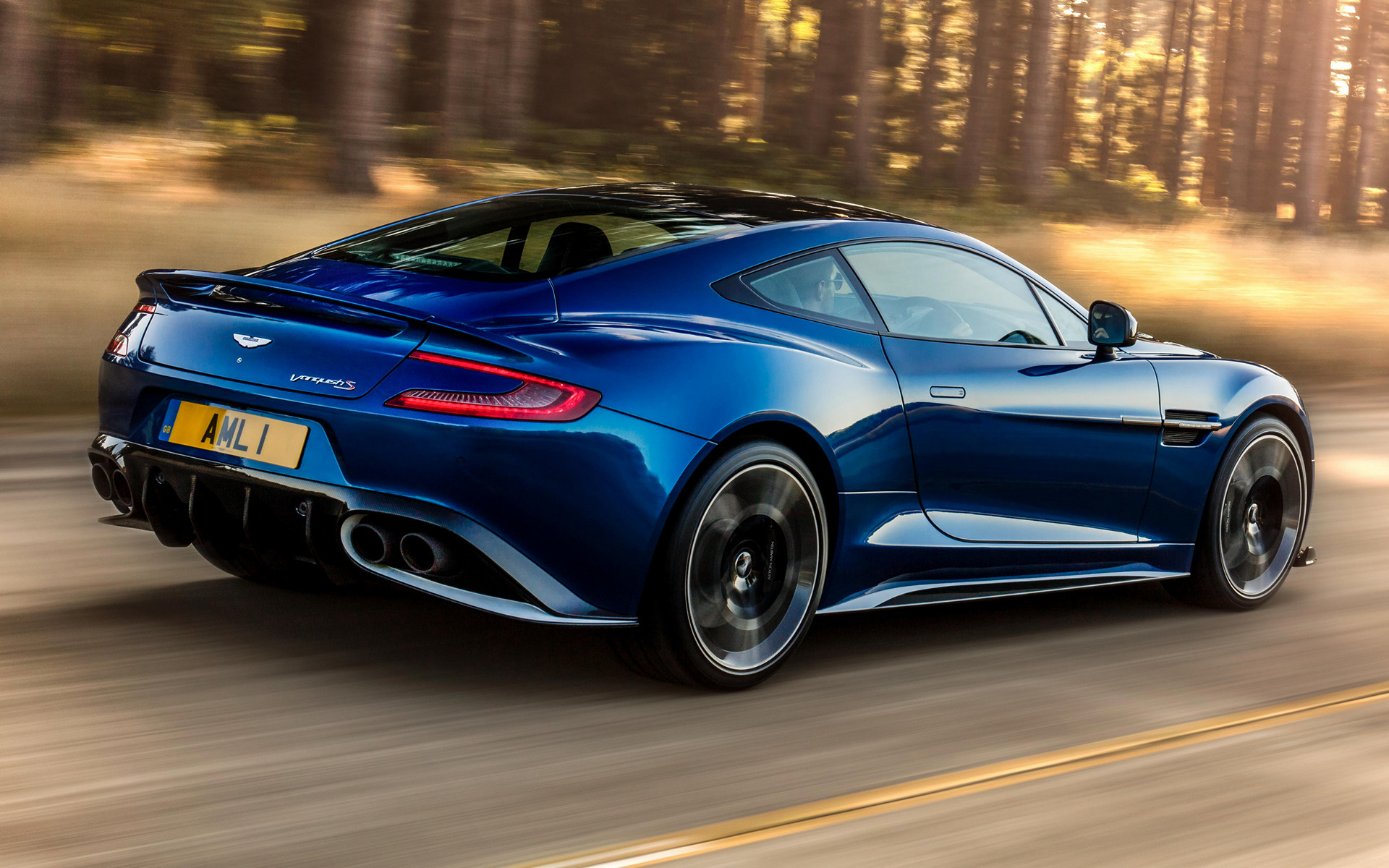 2017 Aston Martin Vanquish S UK   Wallpapers and HD Images Car 1920x1200