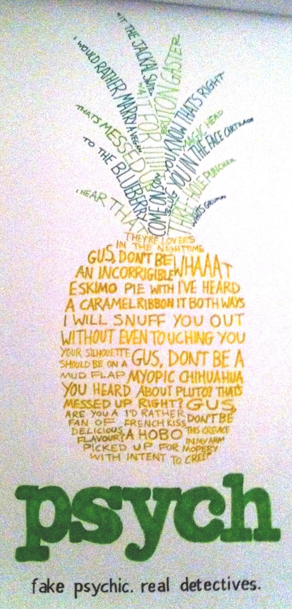 Free download Psych Pineapple by jess wood [982x2047] for ...