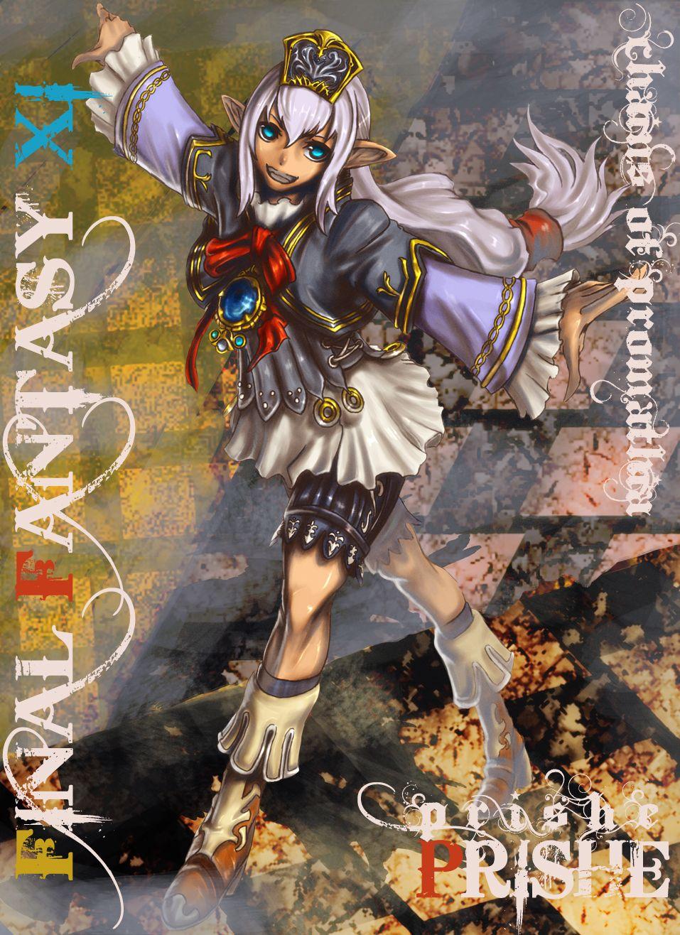 Prishe Final Fantasy XI Final fantasy xi Final fantasy Fantasy 957x1316